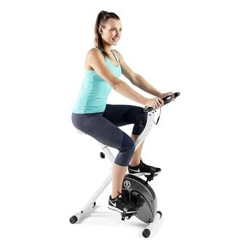 Marcy Foldable Exercise Bike Comfort