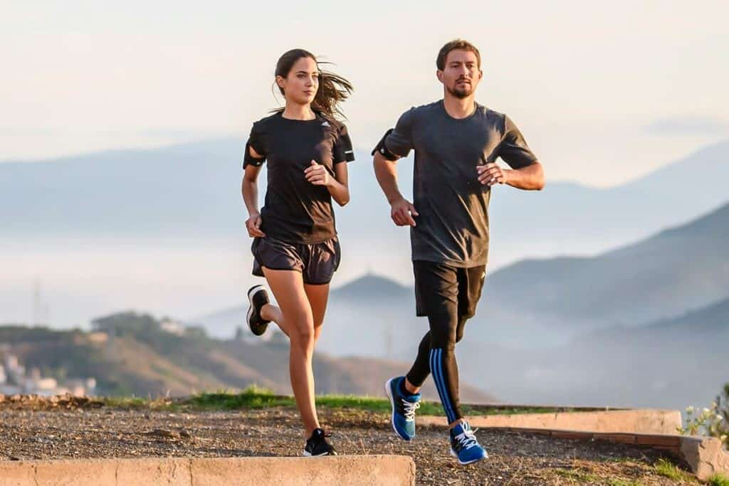 Fit Couple Running