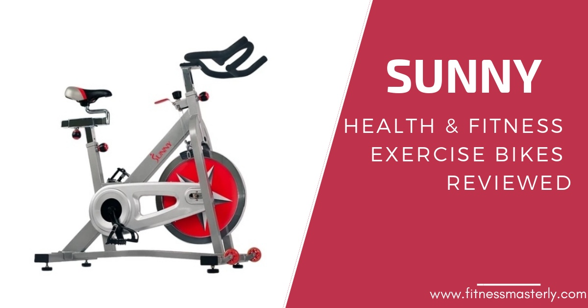 5 Best Sunny Health Exercise Bikes Reviewed – 2021 – Is the Hype Real?