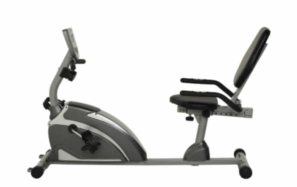 Full design of EXERPEUTIC 900XL 300 lbs. Weight Capacity Recumbent Exercise Bike with Pulse