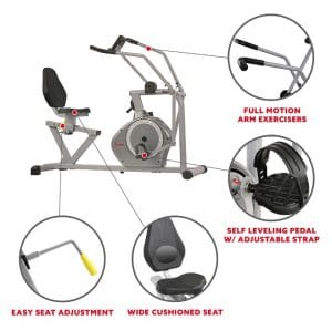 Other Important Features of SF-RB4708 Elliptical Recumbent