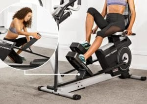 Another view of ProFrom Recumbent Elliptical