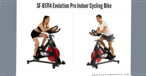 Evolution Pro Magnetic Indoor Cycling Bike SF-B1714 Featured Image