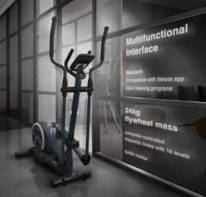 Connectivity of Sportstech elliptical cross trainer