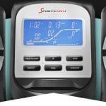 Smart console of sportstech cross trainer bike