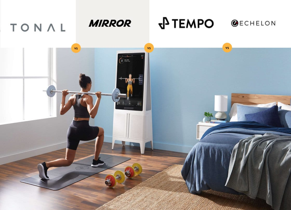 Tonal vs Mirror vs Tempo vs Echelon: What's the Best Smart Home Gym?